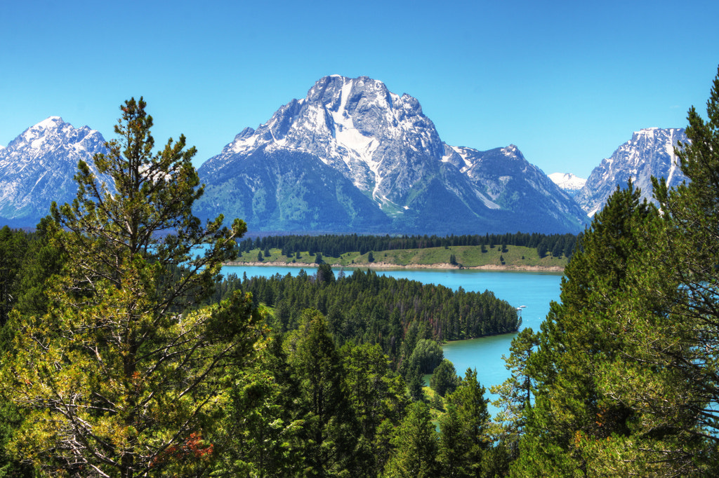 Photograph Mount Moran by Arianna Grainey on 500px