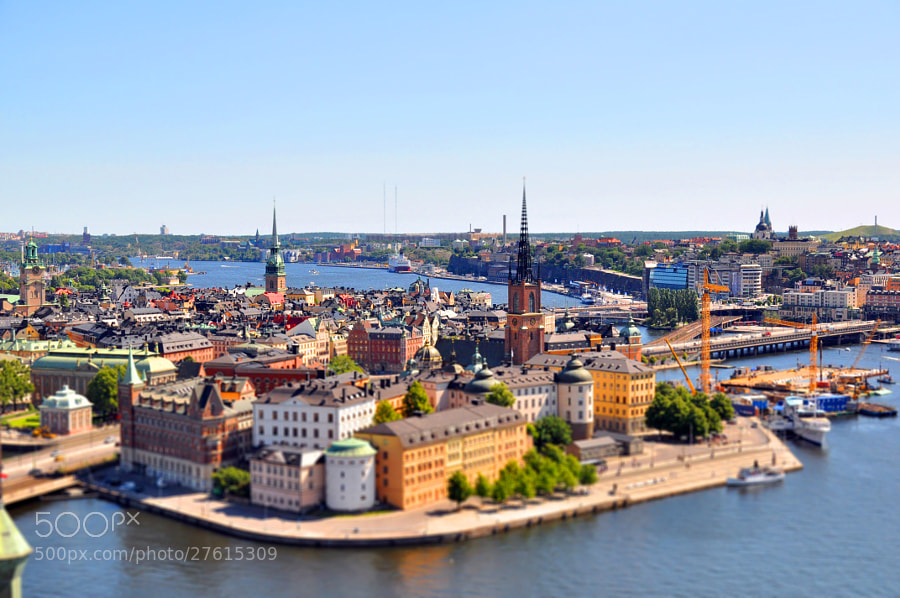 Photograph Mini Gamla Stan by Roberto Appio on 500px