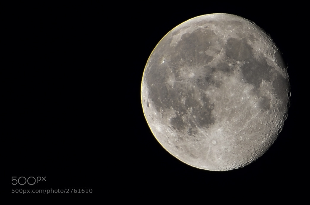 Photograph Moon by Pontus Rudolfson on 500px