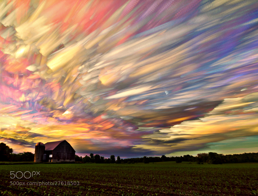 Photograph Sunset Spectrum by Matt Molloy on 500px
