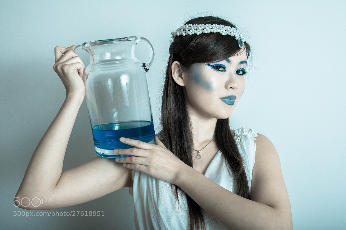 Photograph Aqua girl by Jeami Isidore on 500px