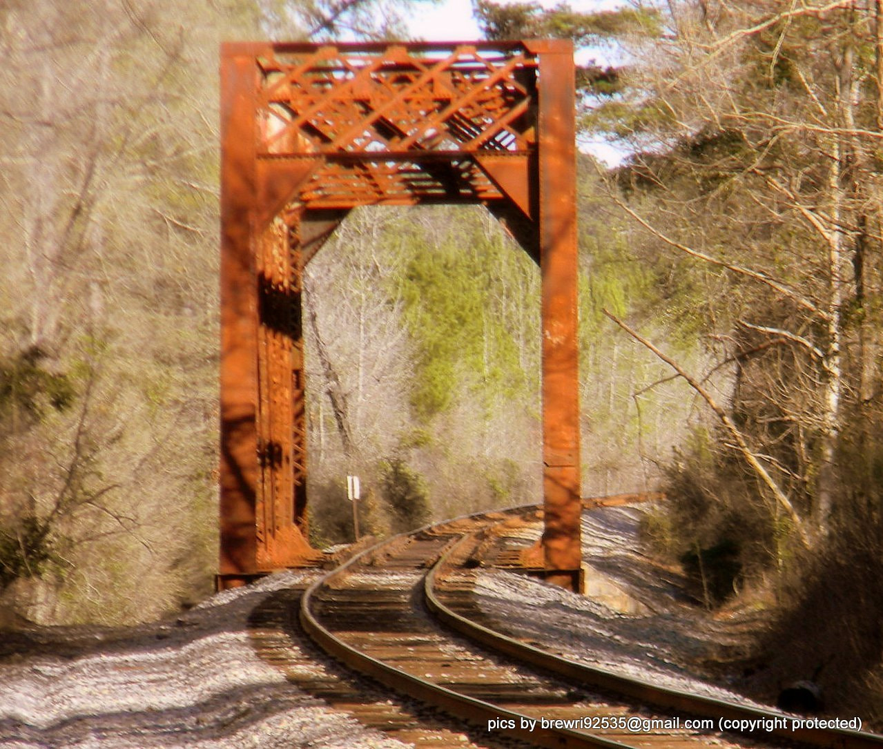 Photograph old train bridge by Brenda Wright on 500px