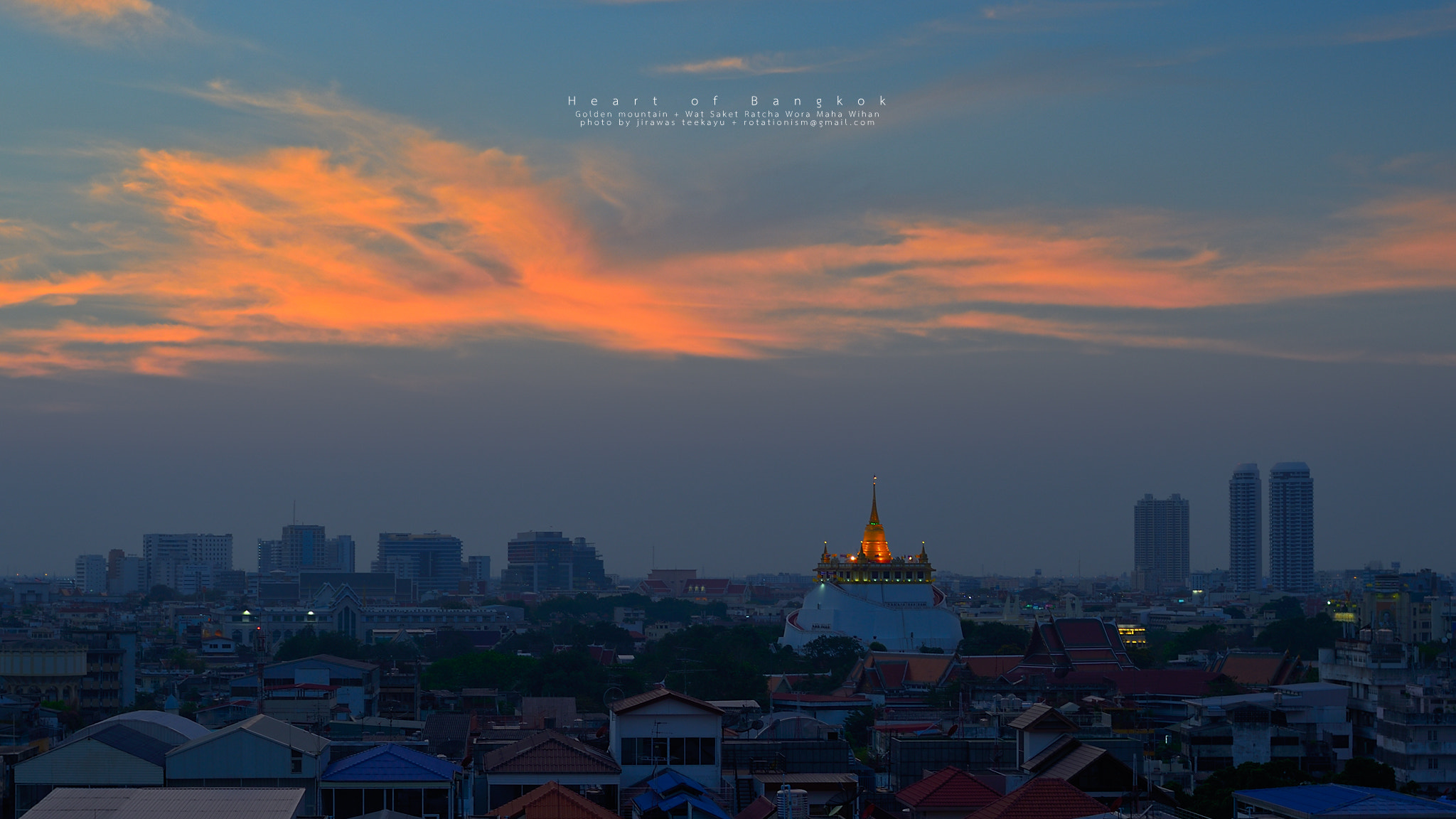 Photograph Heart of Bangkok by Jirawas Teekayu on 500px