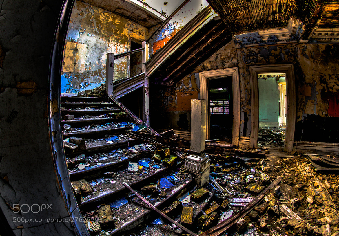 Photograph Westmount college main hall stairs by kevin bird on 500px