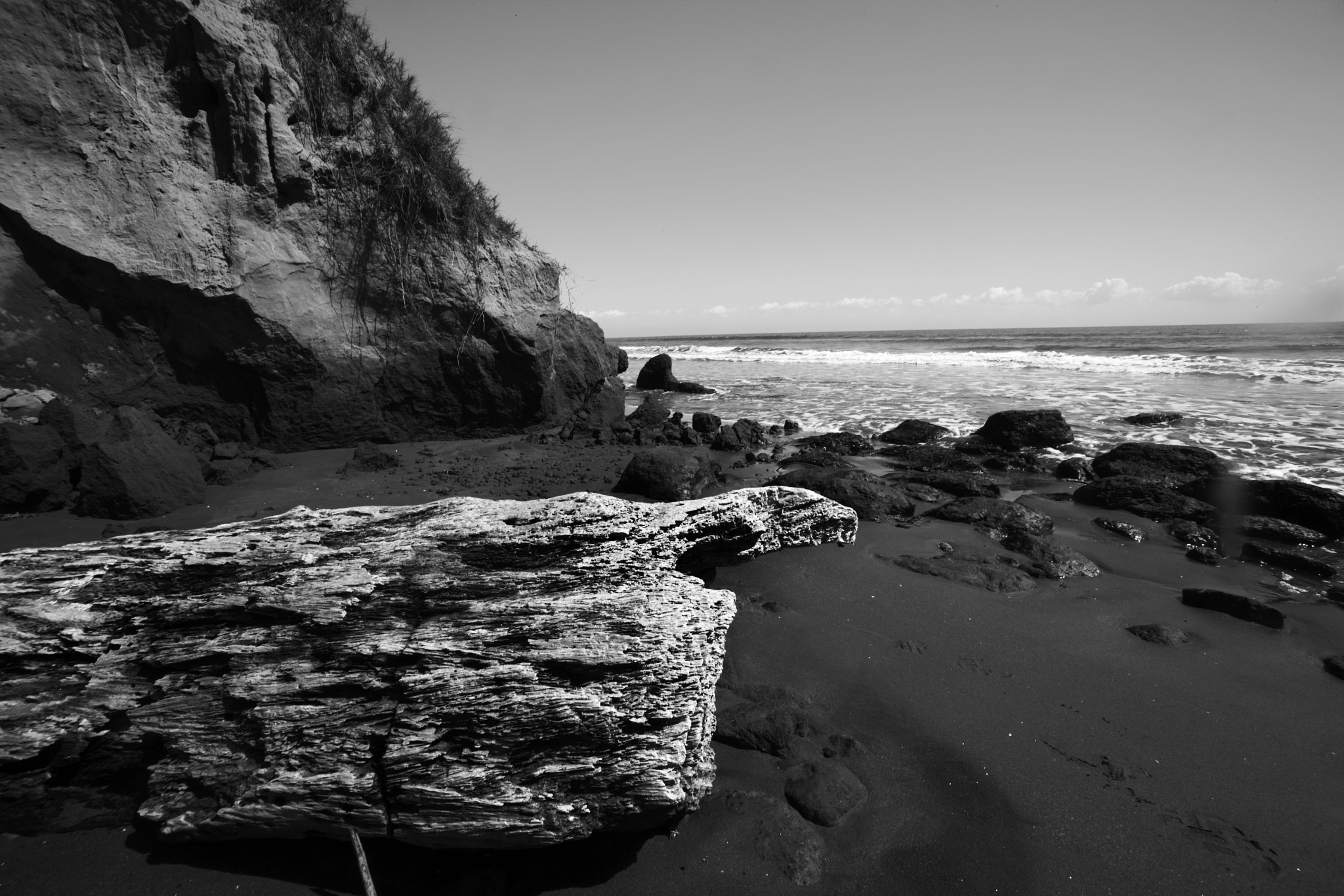 Photograph Beach in black and white by Cristobal Garciaferro Rubio on 500px