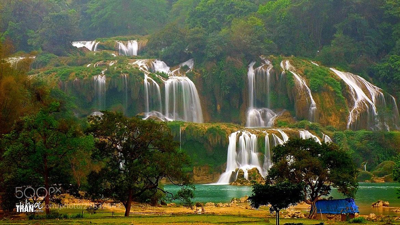 Photograph BanGioc Falls by Khoi Tran Duc on 500px