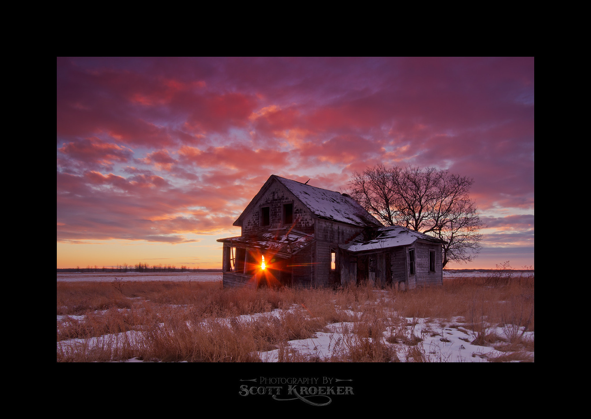 Photograph See Through House Sunset by Scott Kroeker on 500px