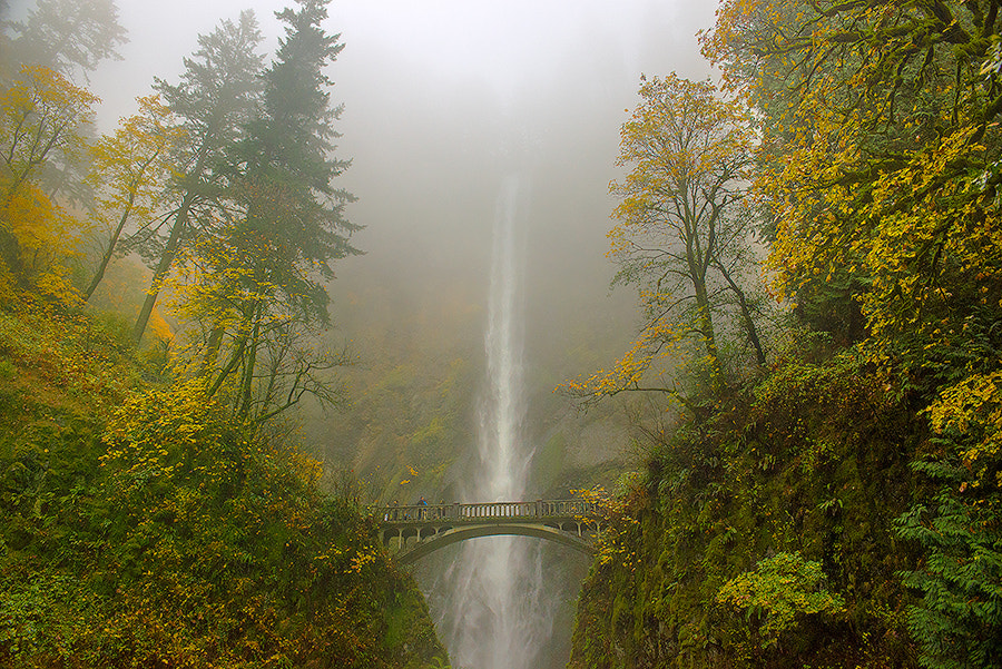 Photograph Multnomah Falls by Henrik Anker Bjerregaard  Lundh III on 500px