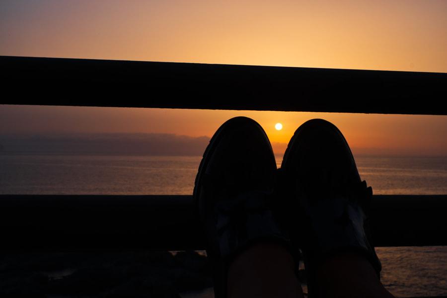 Relaxed Sunrise, автор — Andre Beckers на 500px.com
