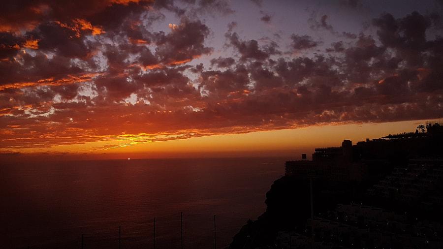 Sunset in Gran Canaria, автор — Donna Broad на 500px.com