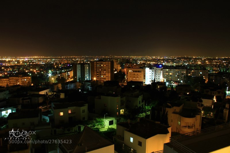 Photograph Tunis midnight by ALiA Shoaib on 500px