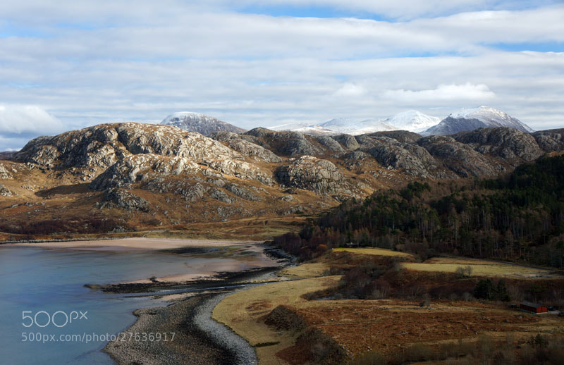 Photograph Gruinard Bay, Wester Ross, Scottish Highlands by Heather Leslie Ross on 500px