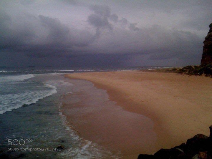 Photograph Newcastle Beach by Karen J on 500px