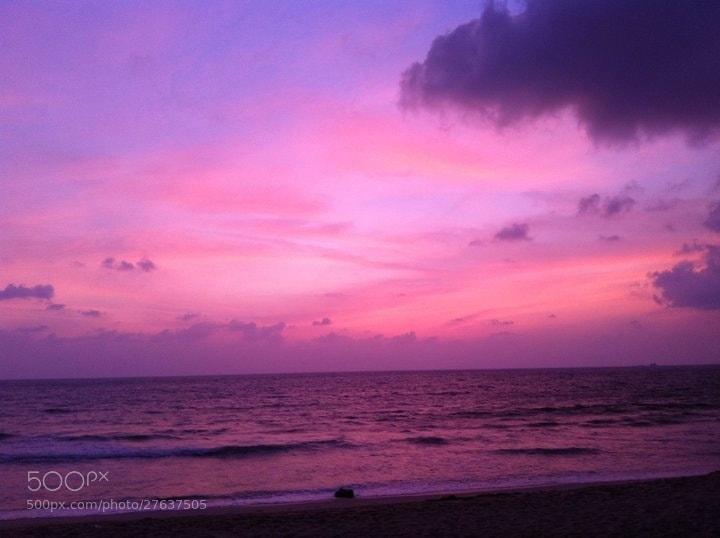 Photograph Purple Sunset by Karen J on 500px