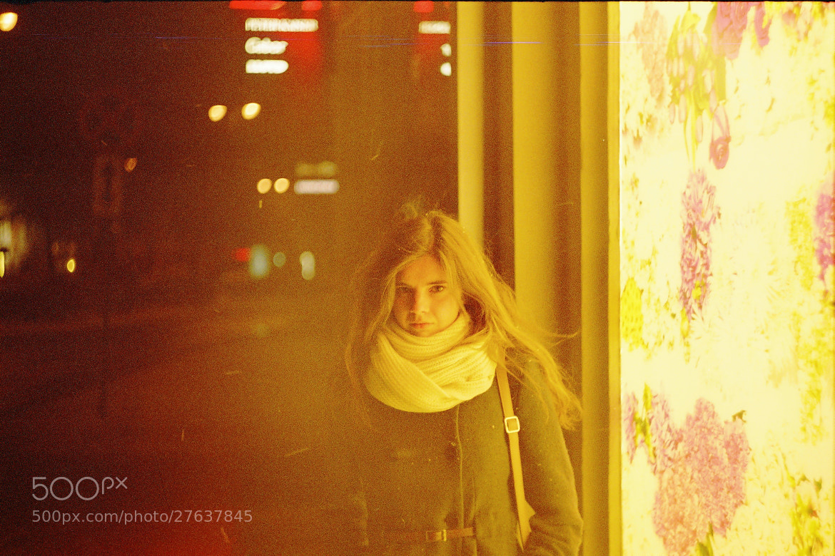 Photograph neon girl by ADME on 500px