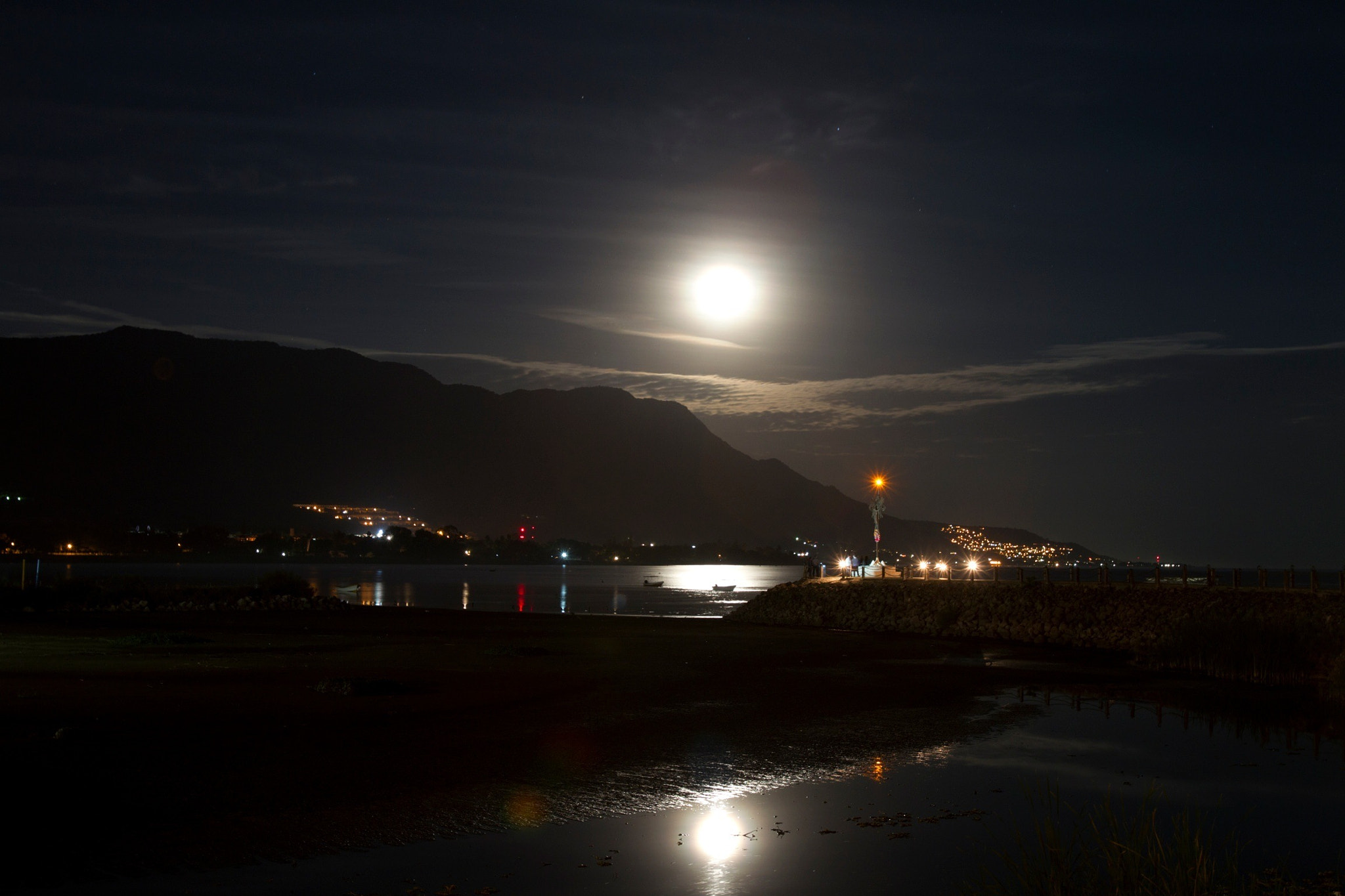 Photograph Full moon over Chapala lagoon by Cristobal Garciaferro Rubio on 500px