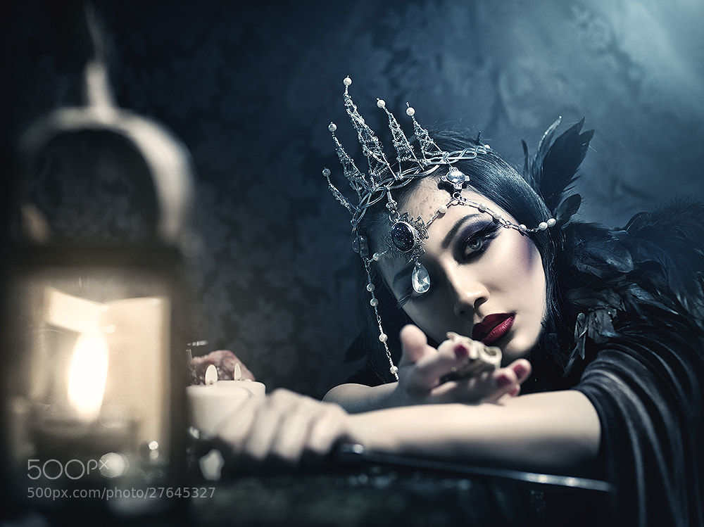 Photograph The Sorceress by Rebeca  Saray on 500px