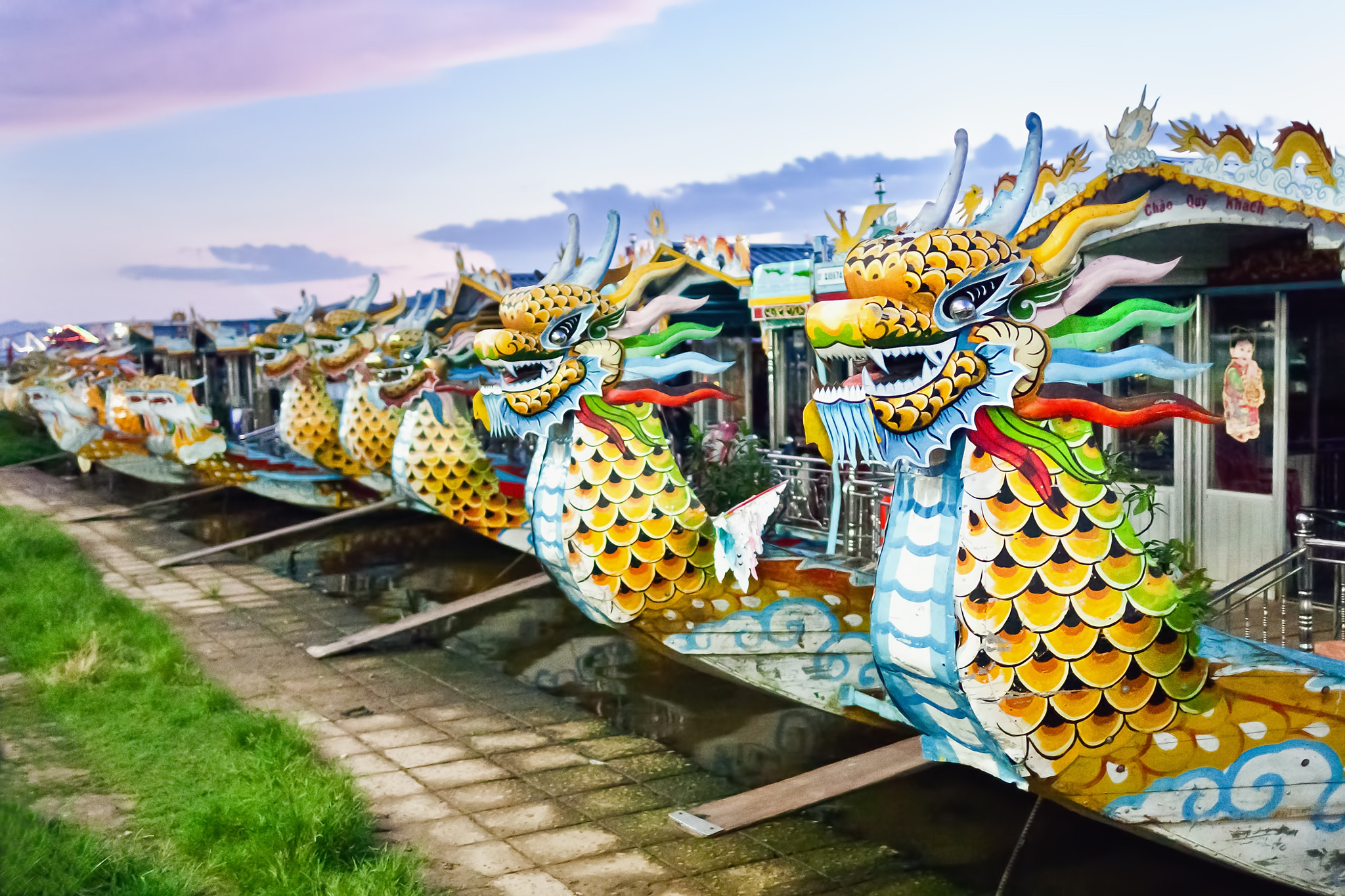Photograph River Dragons by Phu Son Nguyen on 500px