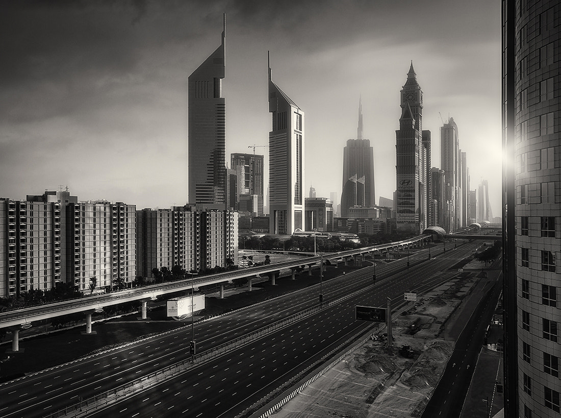 Photograph I AM LEGEND DUBAI SEPIA by Alisdair Miller on 500px