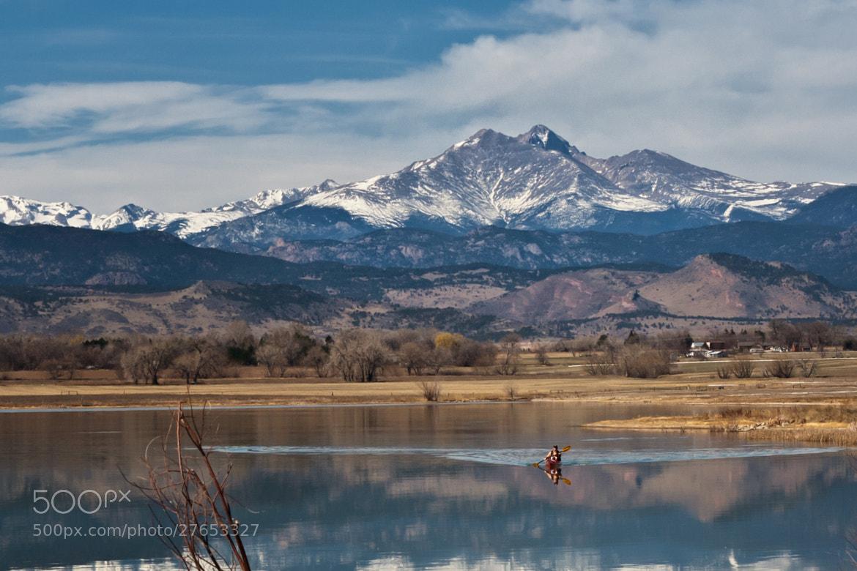 Photograph Leaving Longs Peak by Tony Boyajian on 500px