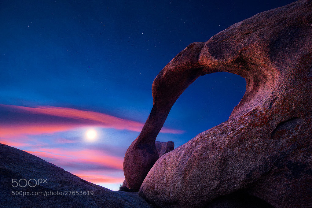 Photograph Mobius Moonset by Steve Perry on 500px