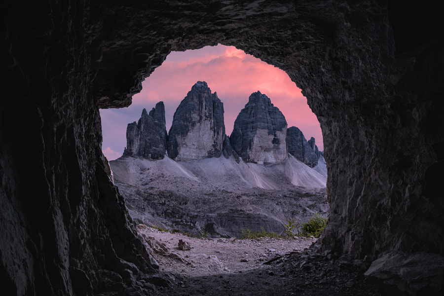 goodnight, Tre Cime... by Marek LACHENDRO on 500px.com