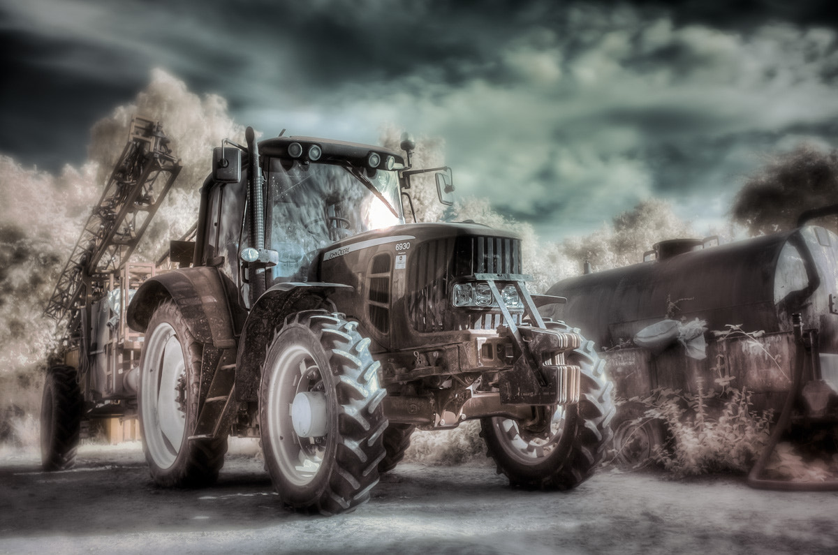 Photograph Infrared Tractor by Sam Bentley on 500px