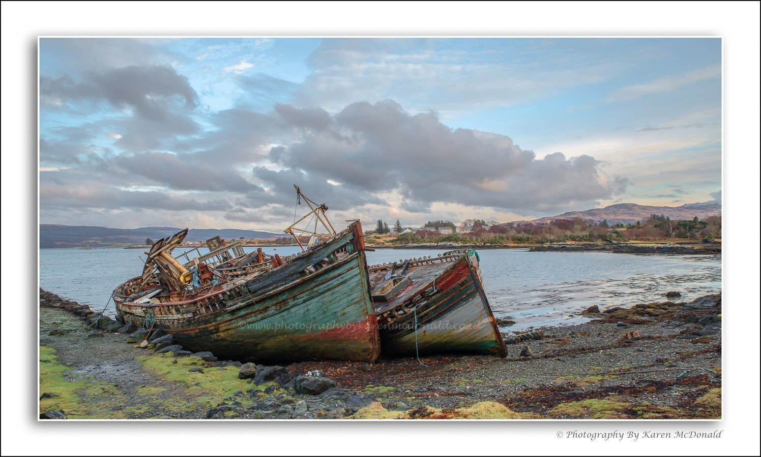 Photograph Abandoned Fishing Boats by Karen McDonald on 500px