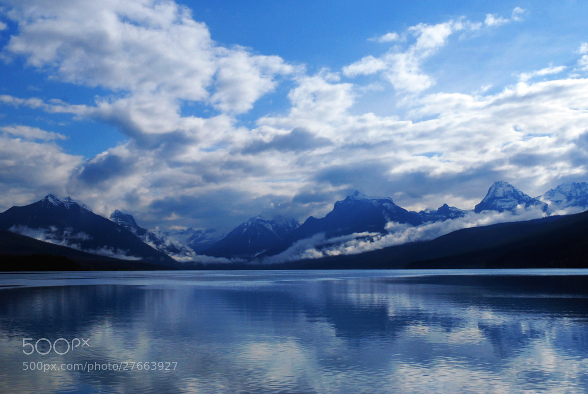 Photograph Lake McDonald clouds ... by Mark Hufstetler on 500px