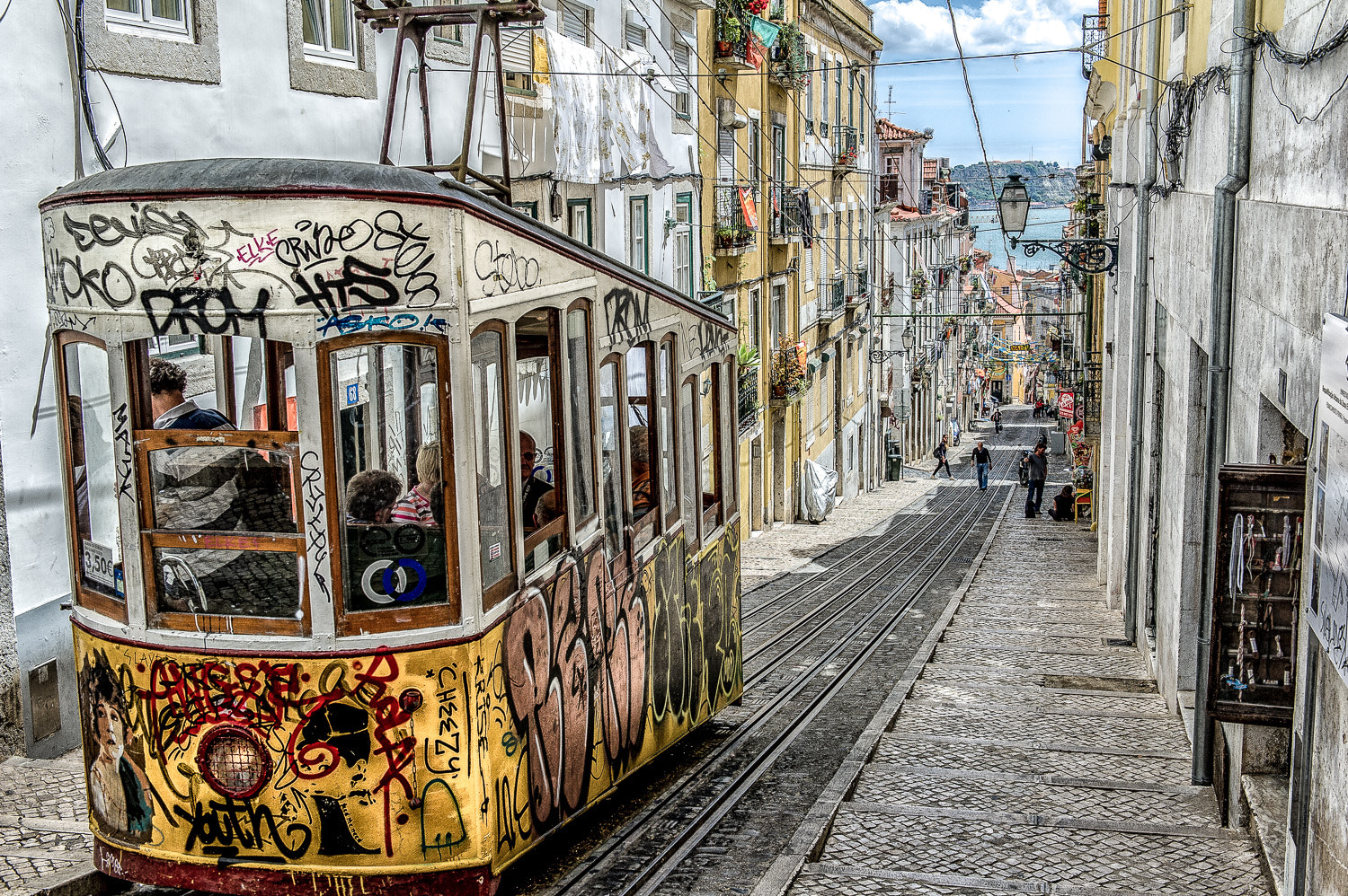 Photograph Lisboa Street Trams by Paul Todd on 500px