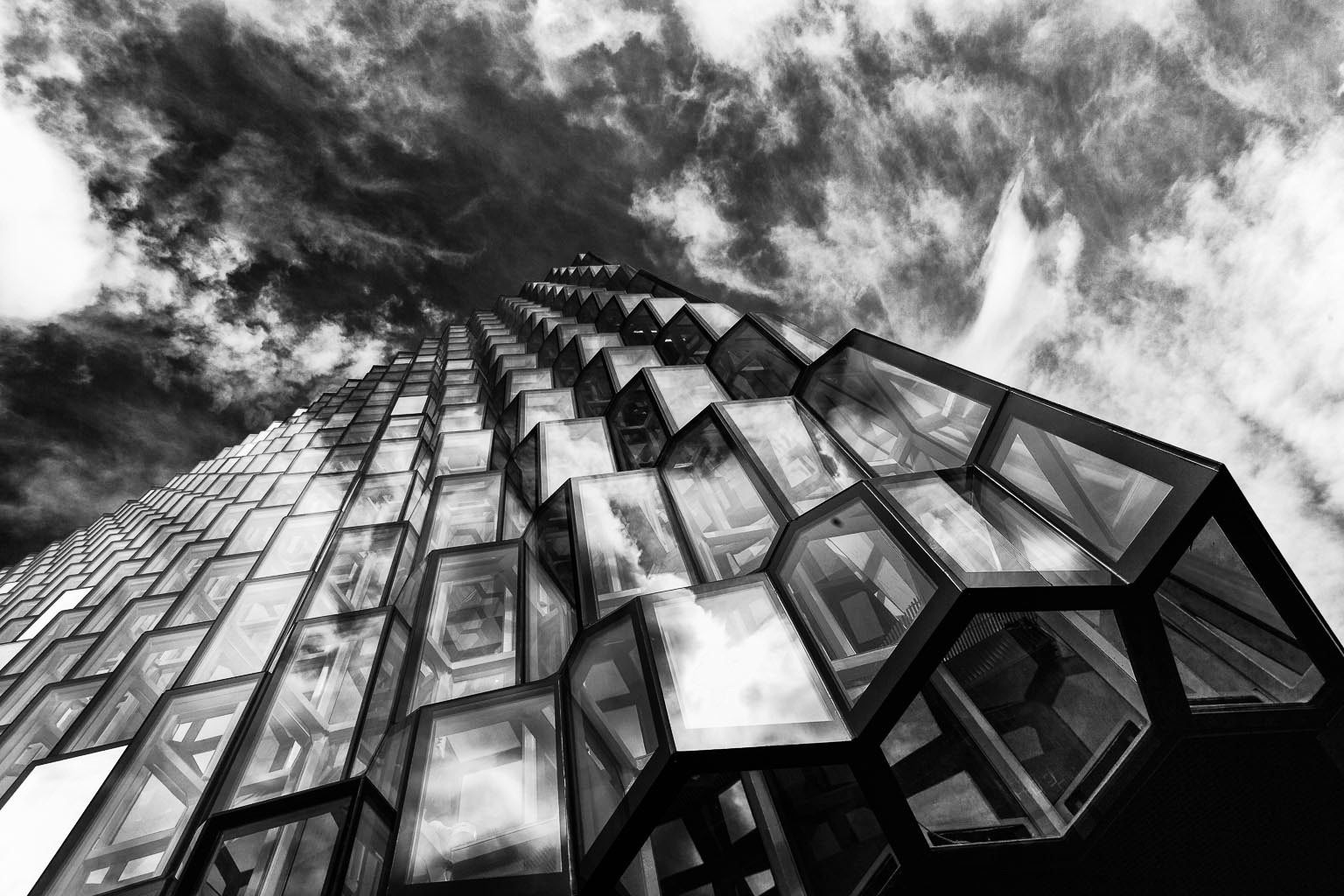 Photograph Harpa, auditorium and Concert Hall, Reykjavik, Iceland by Páll Guðjónsson on 500px