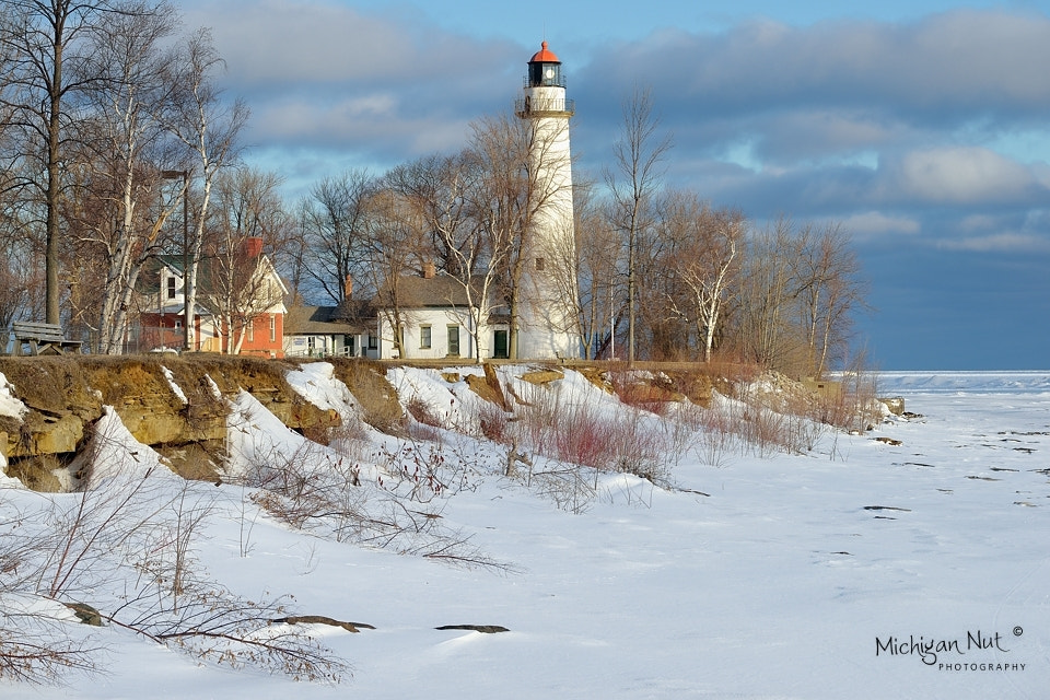 "Photograph ""Winters Dawn"" Pointe Aux Barques Lighthouse ~ Port Hope, Michigan.  by John McCormick on 500px"