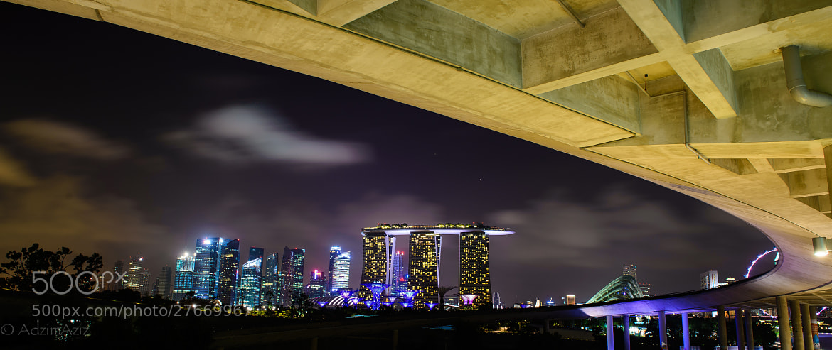 Photograph View from Under by Adzim Aziz on 500px
