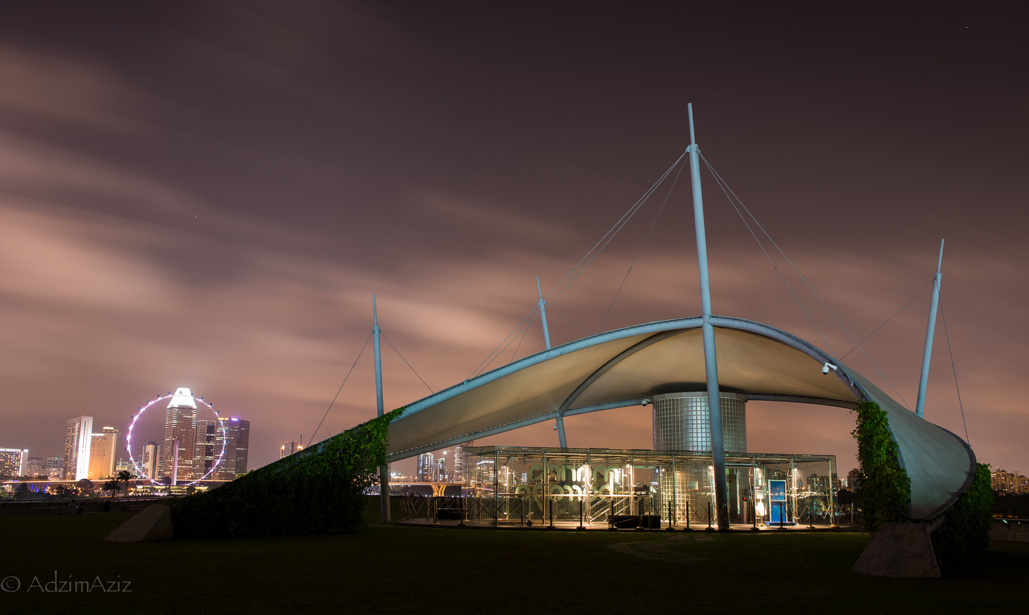 Photograph Marina Barrage by Adzim Aziz on 500px