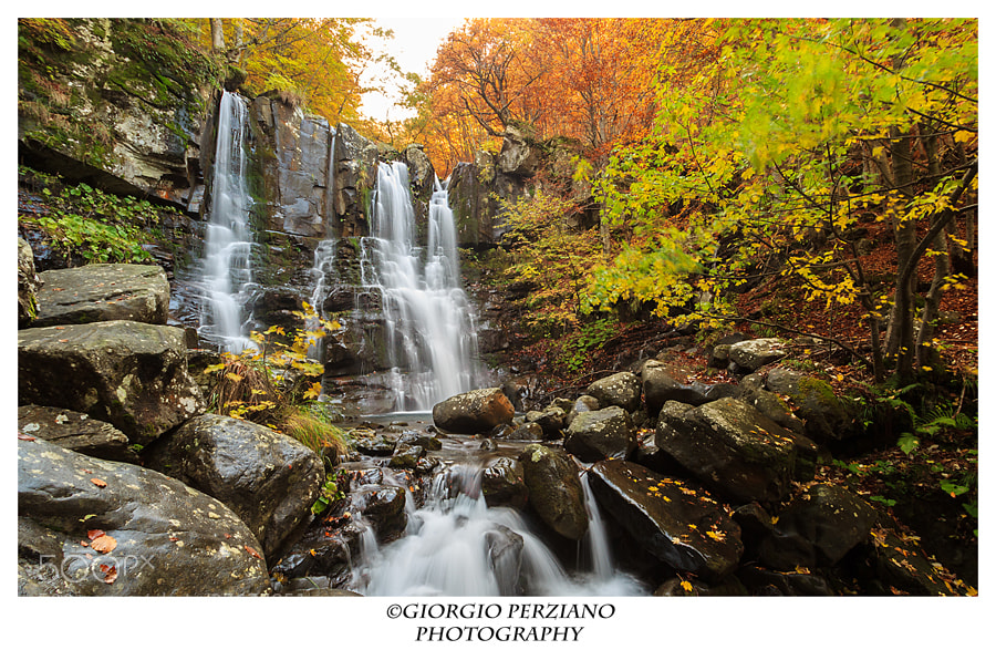 Photograph WaterWall - Dardagna Waterfall by Giorgio Perziano on 500px