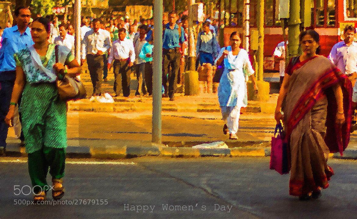Photograph Happy Women's Day 2013 by Swapnil Sonawane on 500px