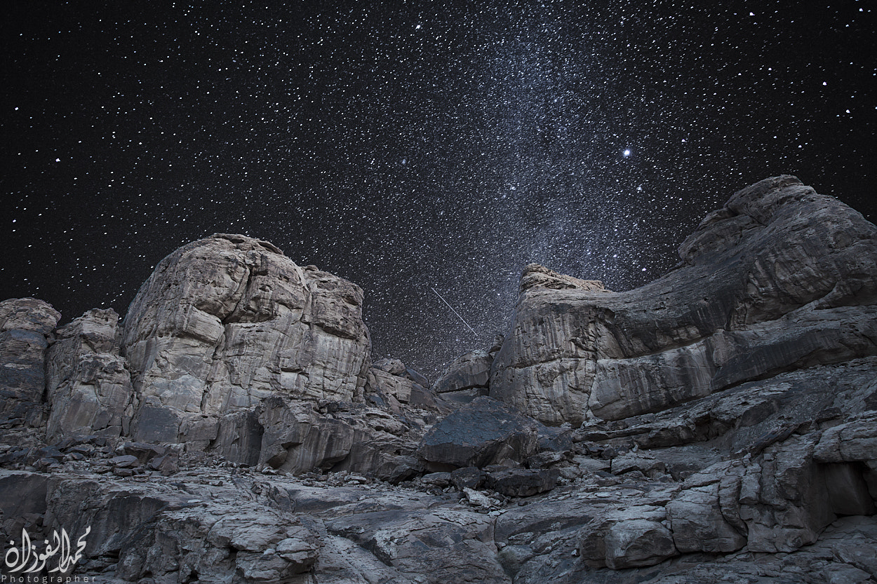 Photograph The stars by Mohammed Al-Fozan on 500px