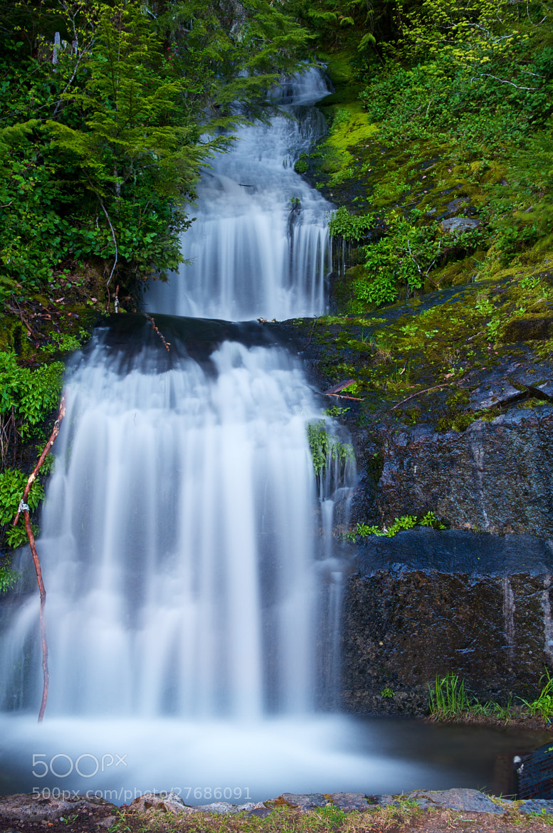 Photograph Parker Creek Falls by Karl Johnson on 500px