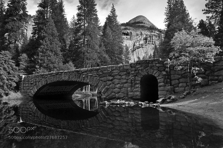 Photograph Clark Bridge Grayscale by Ken Vensel on 500px