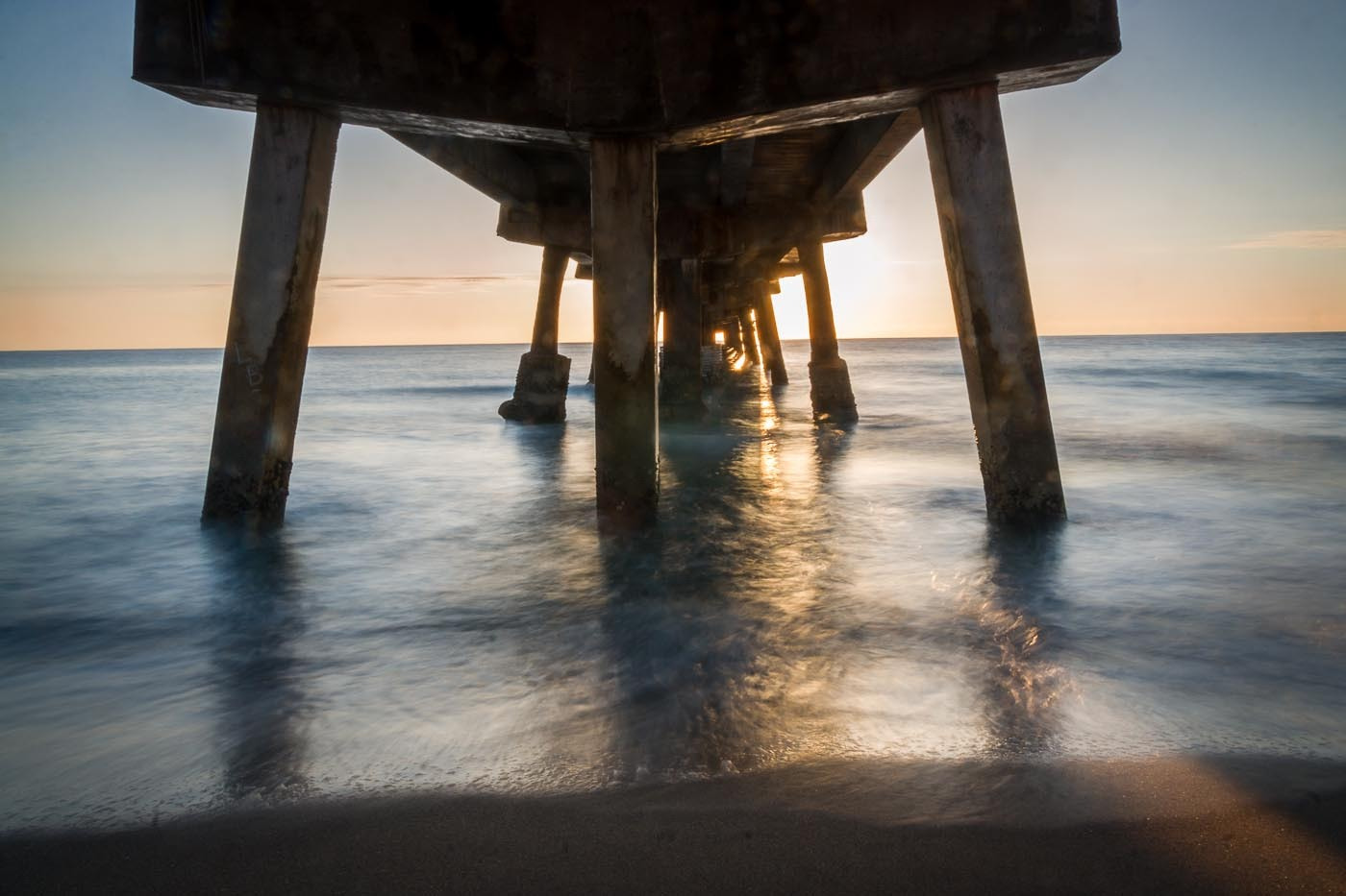 Photograph Sunrise under the Fishing Pier. by Ort Baldauf on 500px