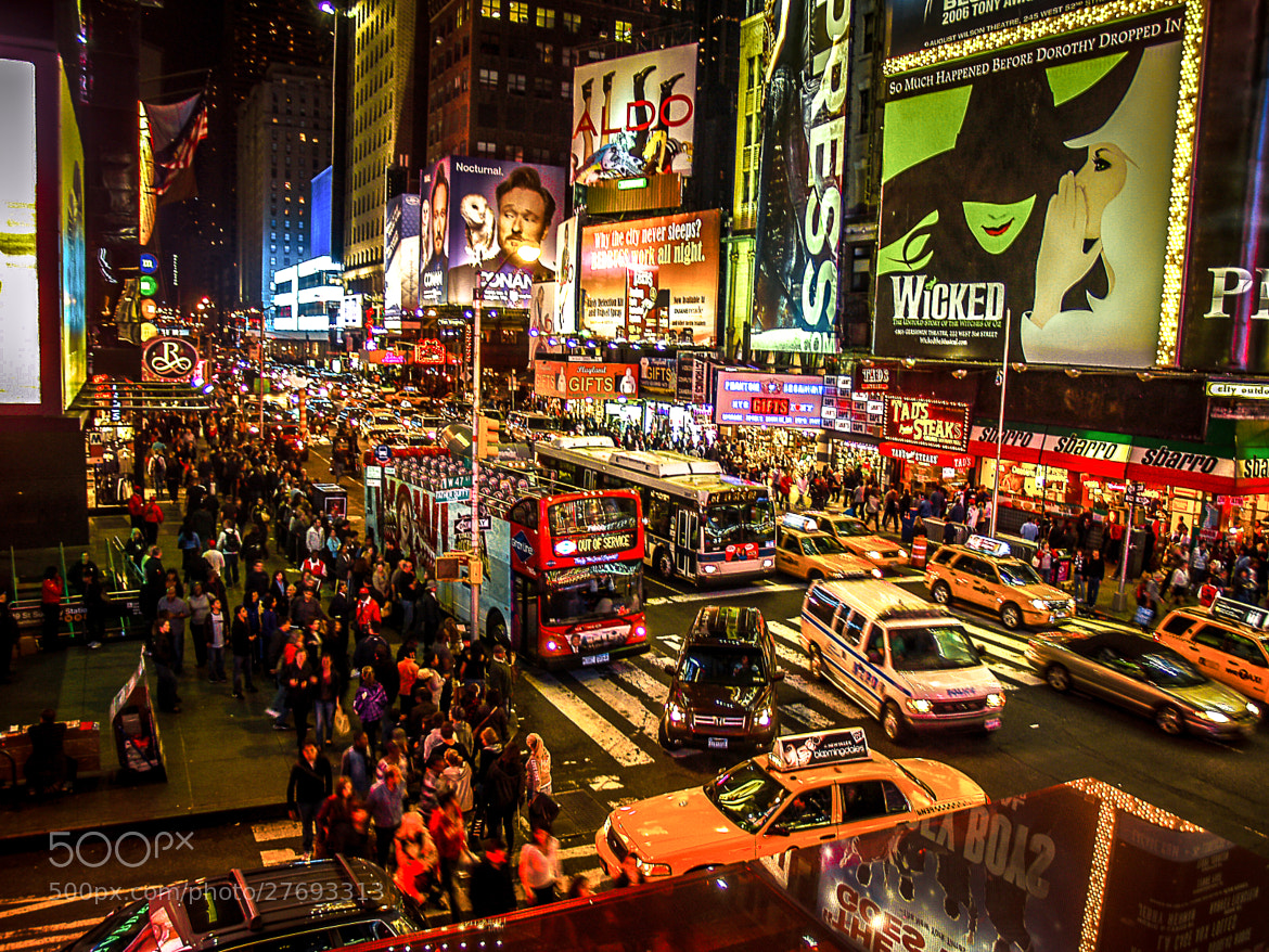 Photograph New York City Time Square by Nicholas Christopher on 500px