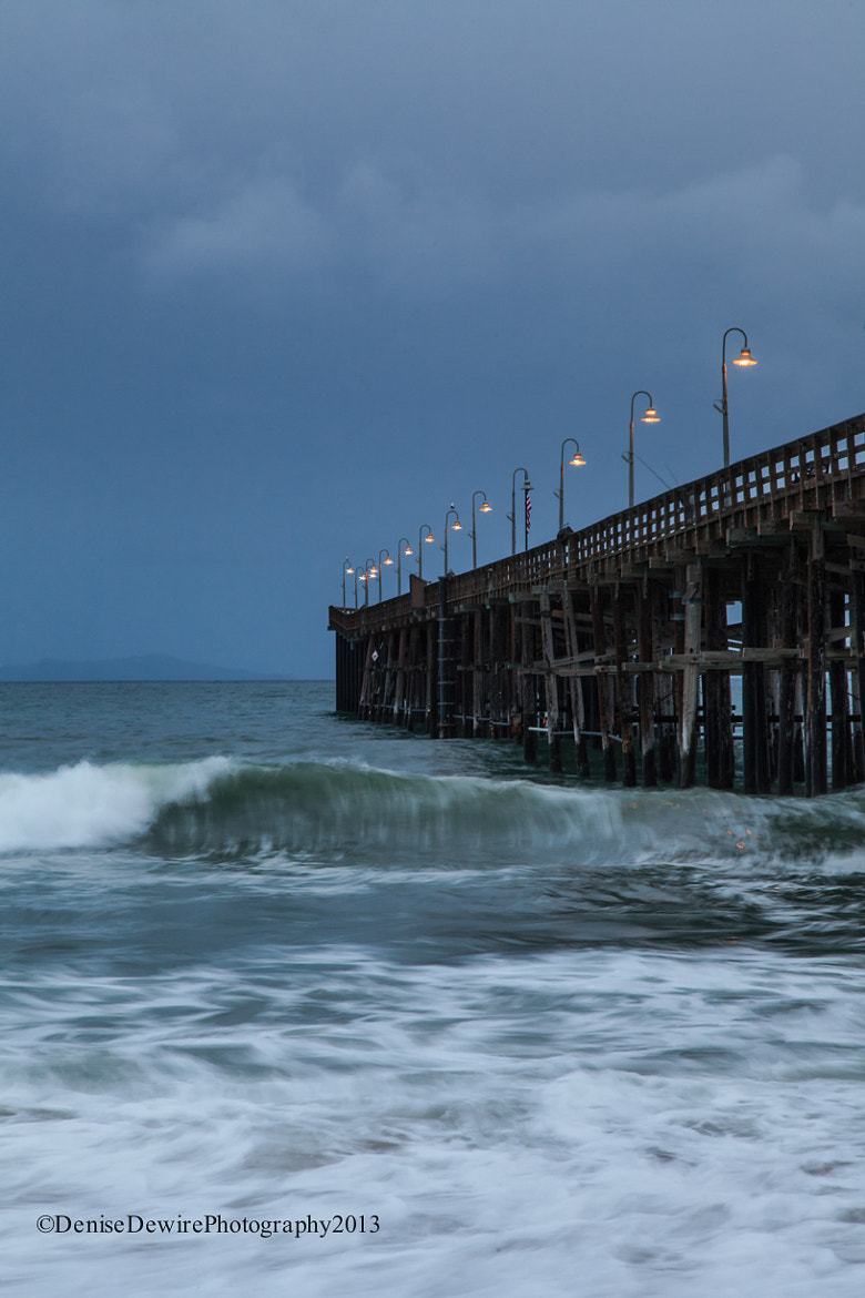 Photograph Stormy Weather Over the Pier by Denise Dewire on 500px