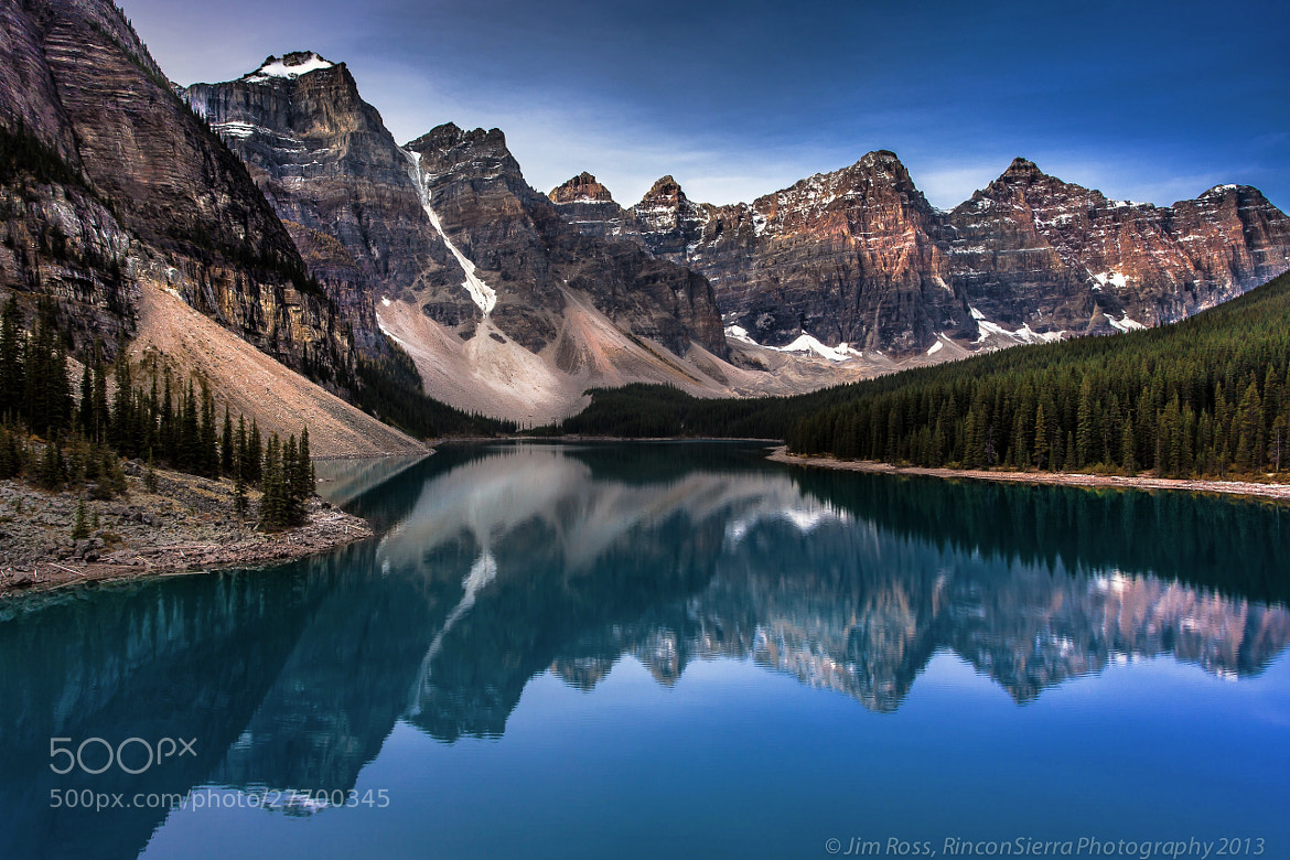 Photograph Canadian Classic!!!  Early Morning Ripples on Moraine Lake!!! by Jim Ross on 500px