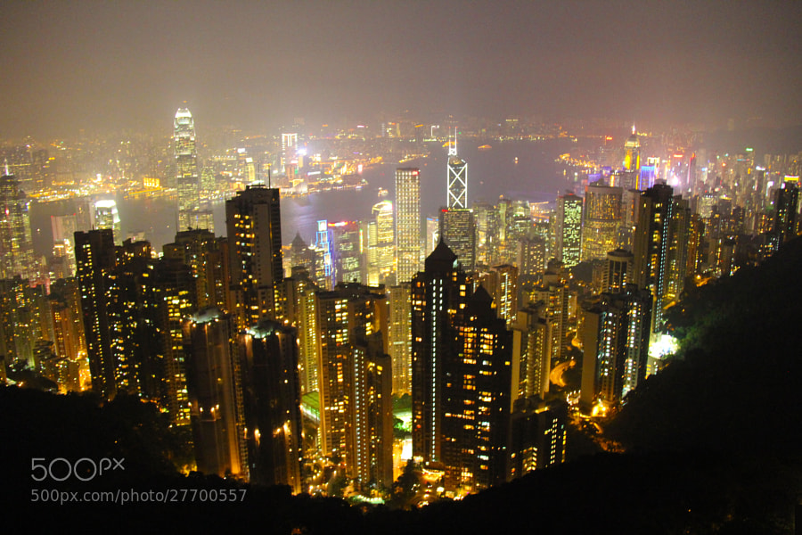 Photograph The Peak - HONG KONG by sharon ang on 500px