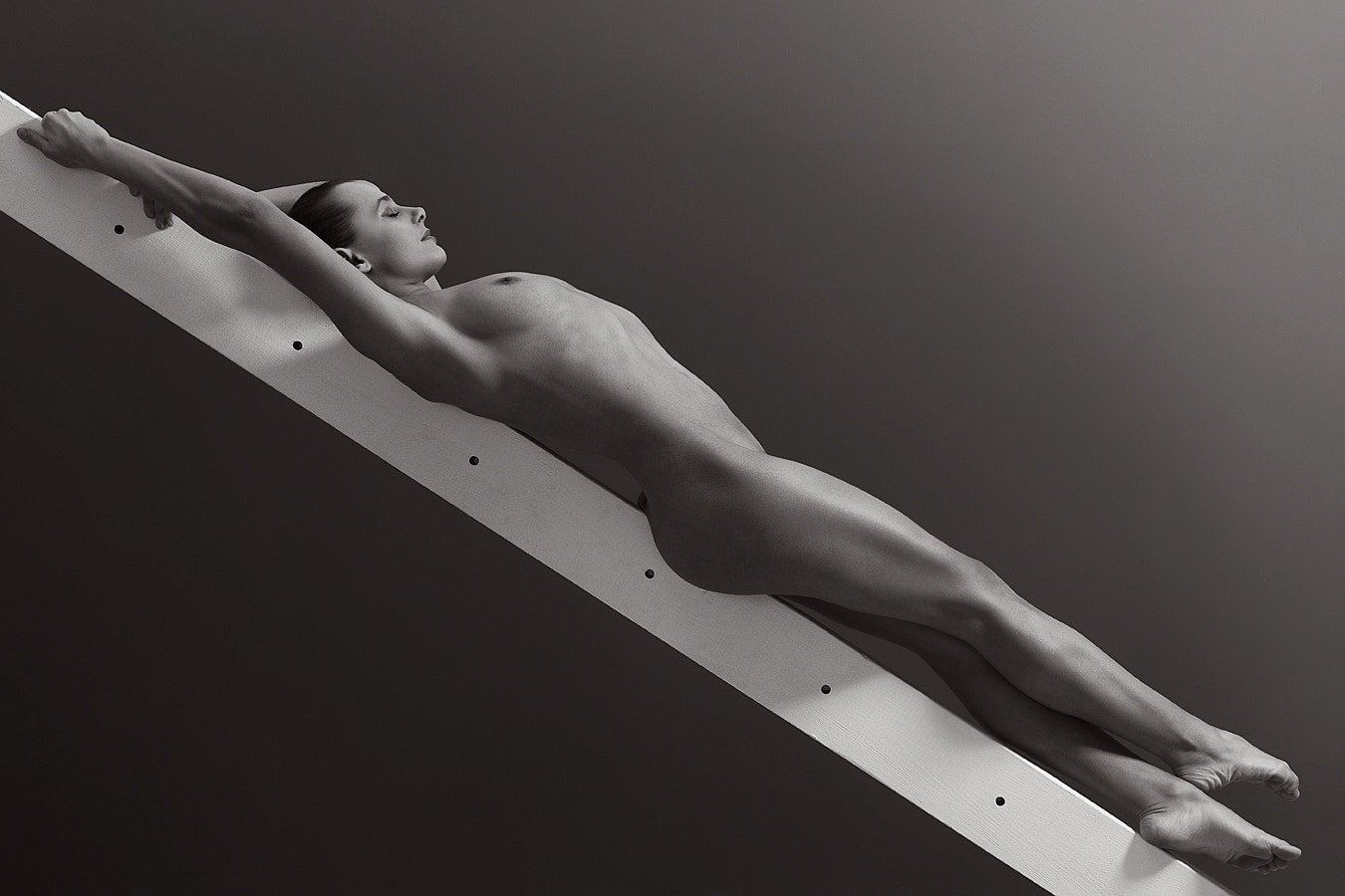 Photograph Amabel on the Beam by Donald Gibbs on 500px