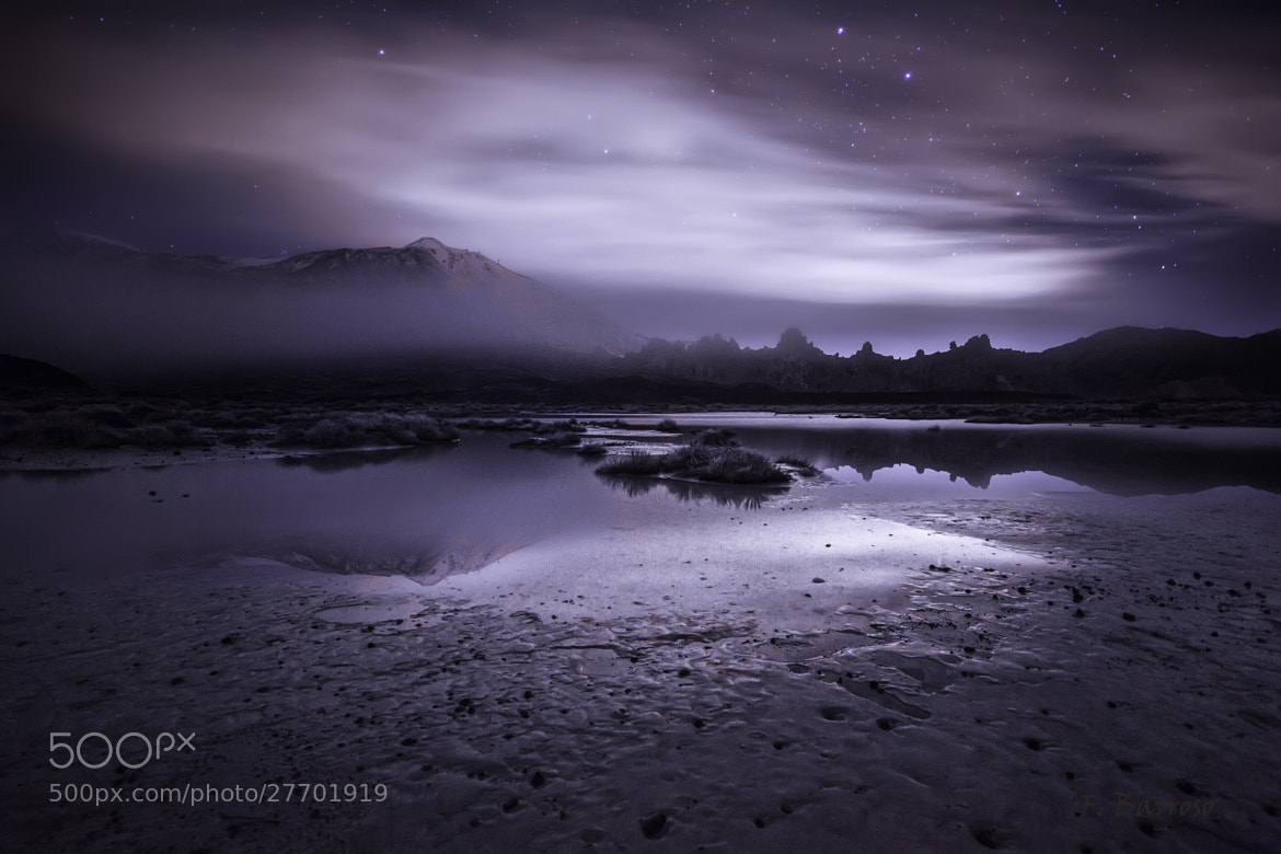 Photograph Night at the Teide by Florencio Barroso  on 500px