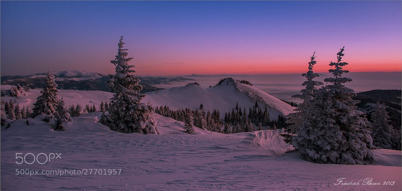 Photograph Wintermorgen by Friedrich Beren on 500px