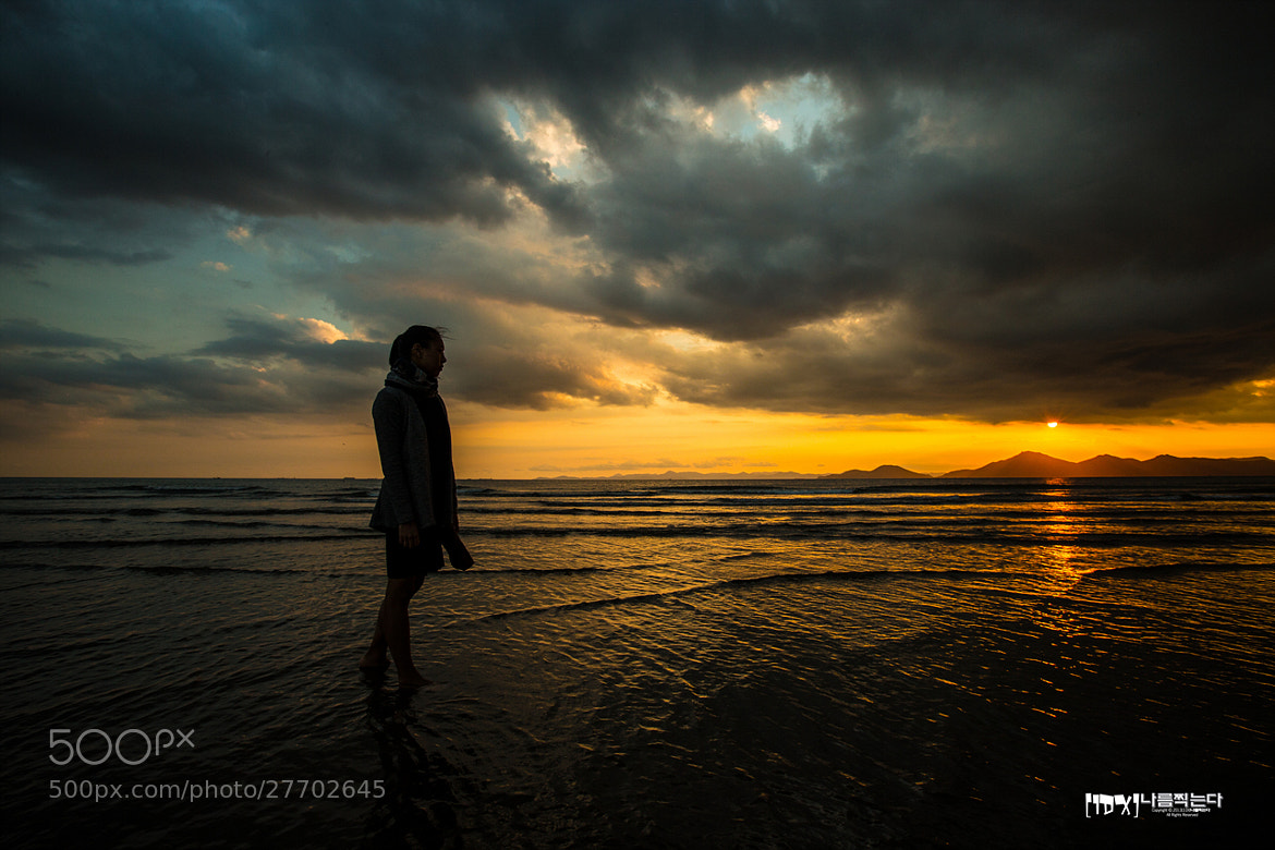 Photograph Woman on the Beach.. And sunset.. by The Shewder on 500px