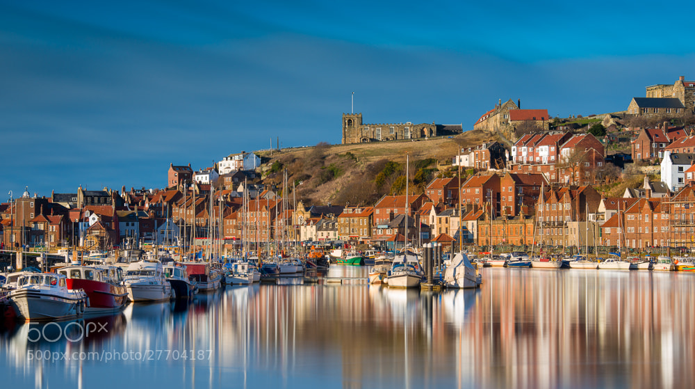 Photograph Whitby Marina by Colin Carter on 500px