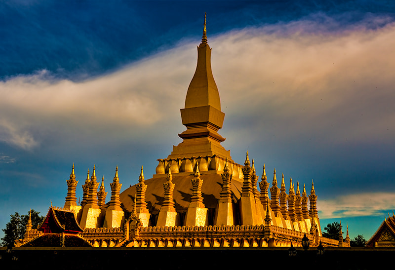 Photograph Pha That Luang by Michel Latendresse on 500px